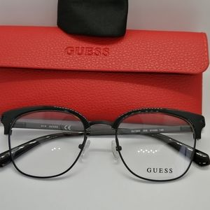 New/Authentic Guess Club Master Style GU1955 51-20